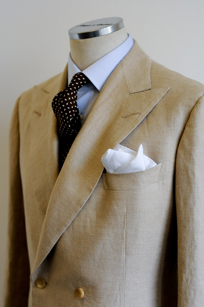 Unlined-Double-Breasted-Cream-Linen-Jacket-_2